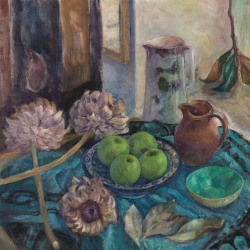 Helene Halstuch: Green Apples