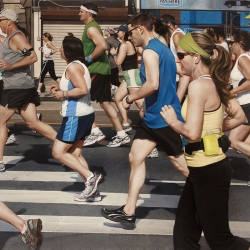 Mary Henderson: Broad Street Run