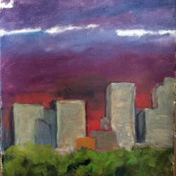Lee Lippman: Menacing Sunset