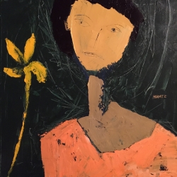 David Horwitz: Woman With A Flower