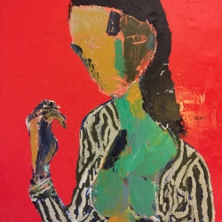 David Horwitz: Woman With A Hand
