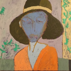 David Horwitz: Woman With A Hat