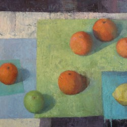 Melissa Husted-Sherman: Tabletop with fruit