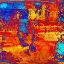 Leo Hylan: Abstract Triptych 2
