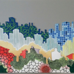 Lisa Imperiale: mix media cityscape
