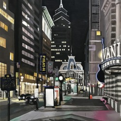 Jean Broden: Market East at Night