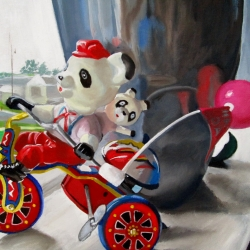 Jean Broden: Panda Tricycle
