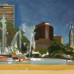 Jenn Hallgren: Logan Square (unfinished)