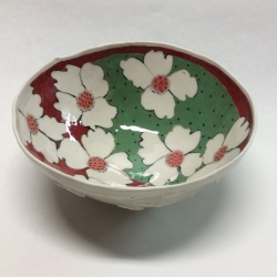 Jerry Bennett: Large Floral Bowl