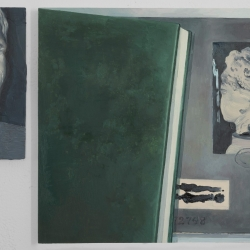 "Olivia Jia: picture file ""S"", (diptych)"