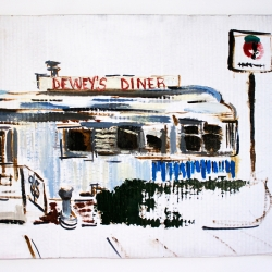 Julia Fox: Dewey's Diner