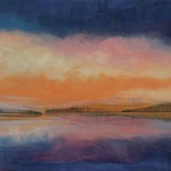 Kirby Fredendall: Crystal Sunset on Friends Lake