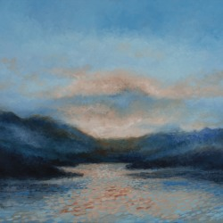Kirby Fredendall: Evening Blue Light
