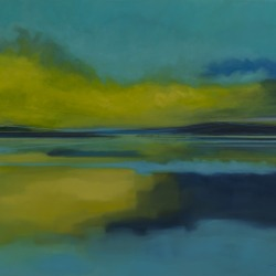 Kirby Fredendall: Reflection in Blue and Green