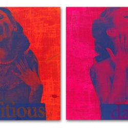 Wendee Yudis: Ambitious Damsel 1, diptych