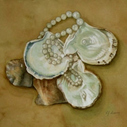Lauren J. Sweeney: Pearls and Oysters (Pinctada radiata)
