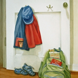 Lauren J. Sweeney: Backpacks and Books