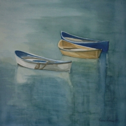Lauren J. Sweeney: Boats in Levanto Harbor