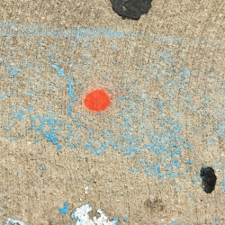 Deborah Leavy: Miro on the Sidewalk