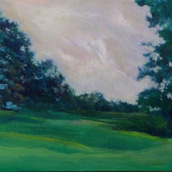 Susan Leshnoff: Dusk in the Park