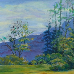 Susan Leshnoff: Clear Mountain View