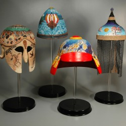 Leslie Grigsby: Four Elements Series (Helmets)