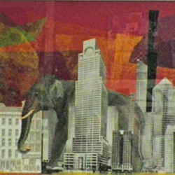 Linnie Greenberg: Elephant in the City