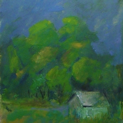 Lee Lippman: The Shack on the Edge of the Forrest