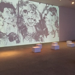 Liz Goldberg: Cuban Queens Projection