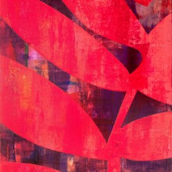 Louis Gribaudo: RED FOSSIL 1