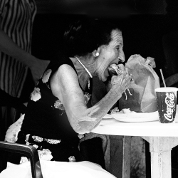 Arlene Love: Lunch at Lorenzo's (9th St)
