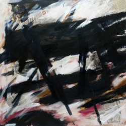 William Lukens: Study with Collage