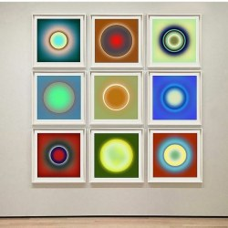 Lynn Dunham: Rendering of a selection from the Mono Eclipse Series