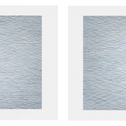 Mallary Johnson: 9-water-study-diptych