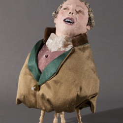 Marilyn Holsing: Laughing Male Green Jacket