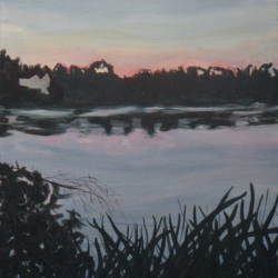 Mary Powers Holt: Night Lake