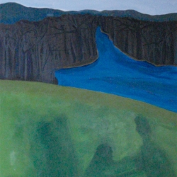 Mary Powers Holt: Shadows on the Hillside