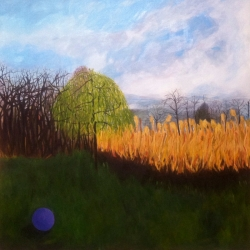 Mary Powers Holt: Purple Ball