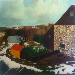 Mary Powers Holt: Melting Snow
