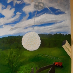 Mary Powers Holt: Landscape with Solar Crystal Ball