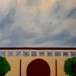 Mary Powers Holt: Suzhou Garden Sky