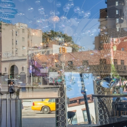 Geanna Merola: Bowery Window with Mirrors
