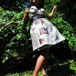 Abigail Meyers: New York Times Newspaper Dress