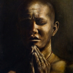 Ruth Miller: Praying Monk