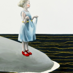 Maggie Mills: Hail and Thunderstorms (Sea Level Rise), detail