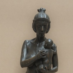Mother-and-Child-Bronze