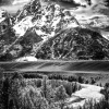 Christopher Brown: Snake River, The Grand Tetons