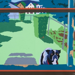 Joseph Opshinsky: Back Porch Dog