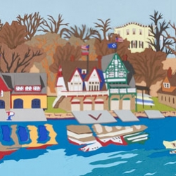 Joseph Opshinsky: Boathouse Row