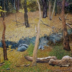 Gary Grissom: Morris Park Creek, Autumn Day